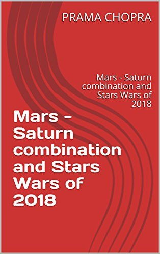 Mars - Saturn combination and Stars Wars of 2018